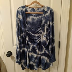 Cato bell sleeve top